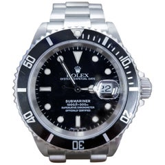 Rolex Submariner, Stainless, Model Number 16610, Registered 2008