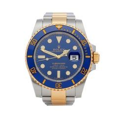 Rolex Submariner Stainless Steel And 18k Yellow Gold 116613LB