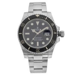 Rolex Submariner Stainless Steel Black Dial Date Automatic Men's Watch 116610LN