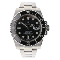 Rolex Submariner Stainless Steel Black Reference 116610LN Box and Papers