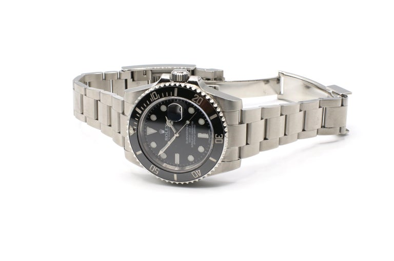 Rolex Submariner Stainless Steel Black Reference 116610LN Box and Papers For Sale 3
