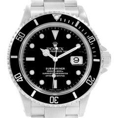 Rolex Submariner Stainless Steel Men's Watch 16610 Box
