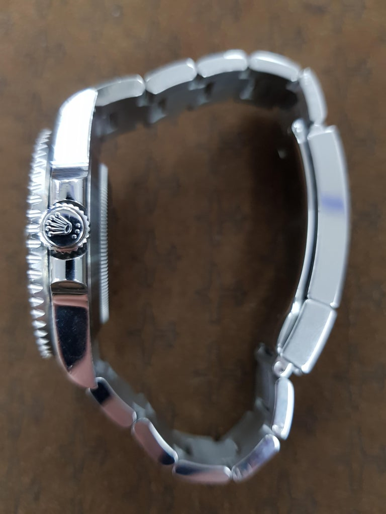 Contemporary Rolex Submariner, Stainless Steel, Model Number 116610LN, Registered 2013 For Sale