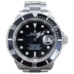 Rolex Submariner, Stainless Steel, Model Number 16610, Registered 2004