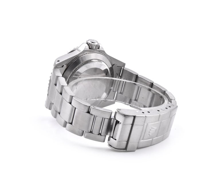 Women's or Men's Rolex Submariner Stainless Steel No Date Watch Ref. 14060M For Sale