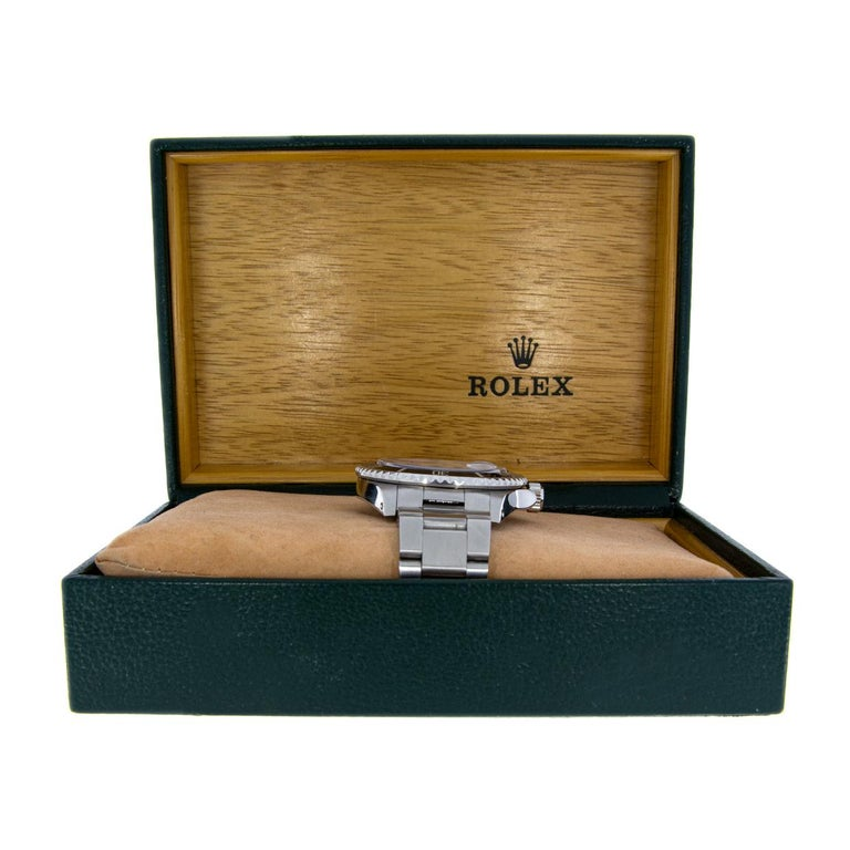 Rolex Stainless Steel Submariner Watch with Black Dial, Model 16610 In Excellent Condition For Sale In Columbia, MO