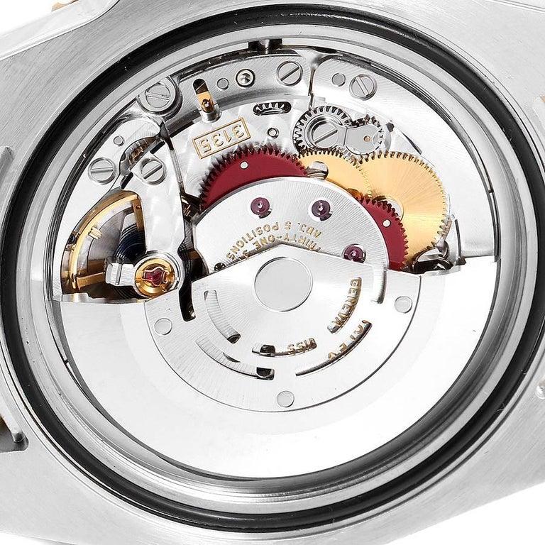 Rolex Submariner Steel 18 Karat Yellow Gold Blue Dial Men's Watch 116613 5