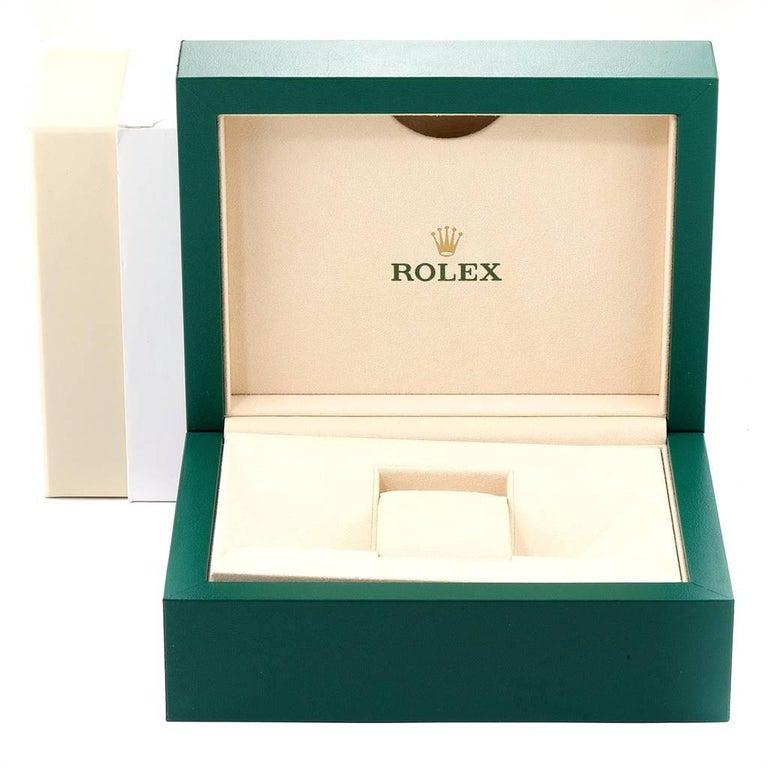 Rolex Submariner Steel 18 Karat Yellow Gold Blue Dial Watch 116613 For Sale 7