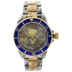 Rolex Submariner Steel 18K Yellow Gold Custom Camo Automatic Men's Watch 16613