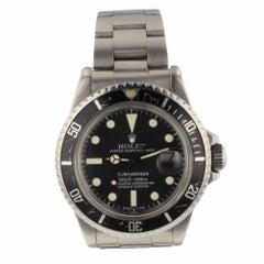 Rolex Submariner Steel Automatic Black Watch 1680, circa 1978
