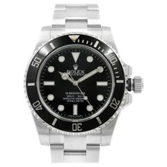 Rolex Submariner Steel Ceramic Black Dial Automatic Men's Watch 114060
