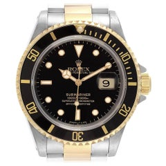 Rolex Submariner Steel Yellow Gold Automatic Men's Watch 16613