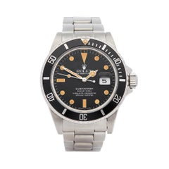 Rolex Submariner Transitional Matte Dial Stainless Steel 16800
