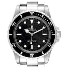 Rolex Submariner Vintage Spider Net Dial Steel Men's Watch 5513