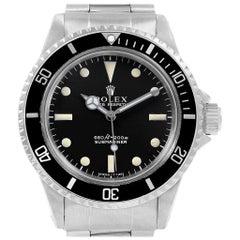 Rolex Submariner Vintage Edelstahl Automatik Männer Uhr 5513