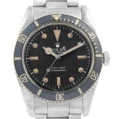 Rolex Submariner Vintage Stainless Steel Men's Watch 5508