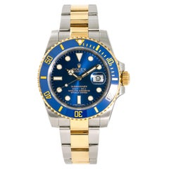 Rolex Submariner 116613, Blue Dial Certified Authentic