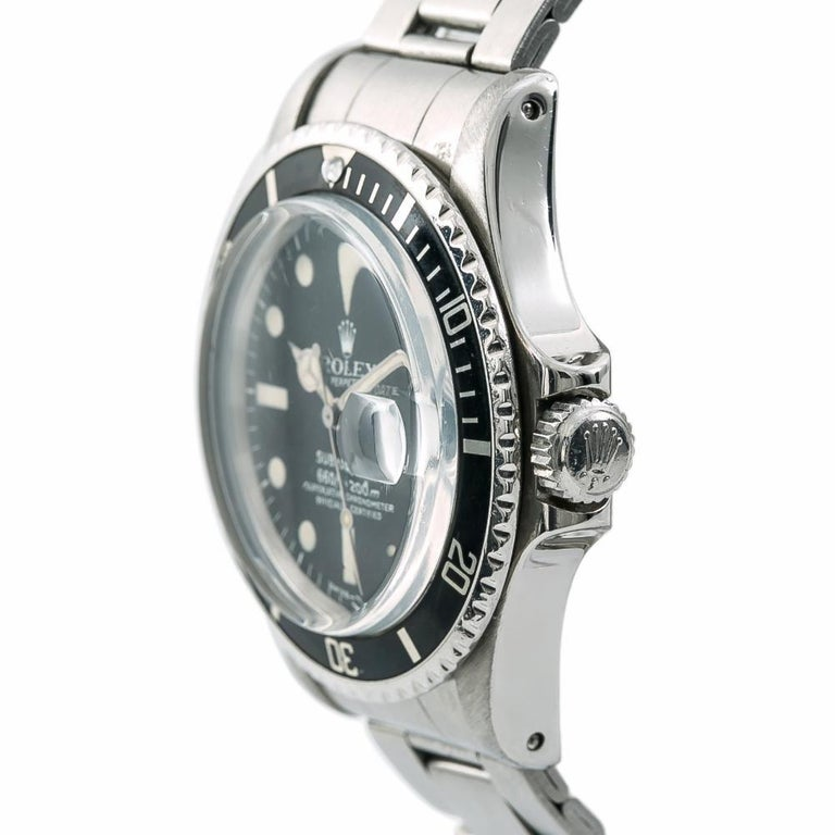 Rolex Submariner 1680, Black Dial Certified Authentic For Sale 1