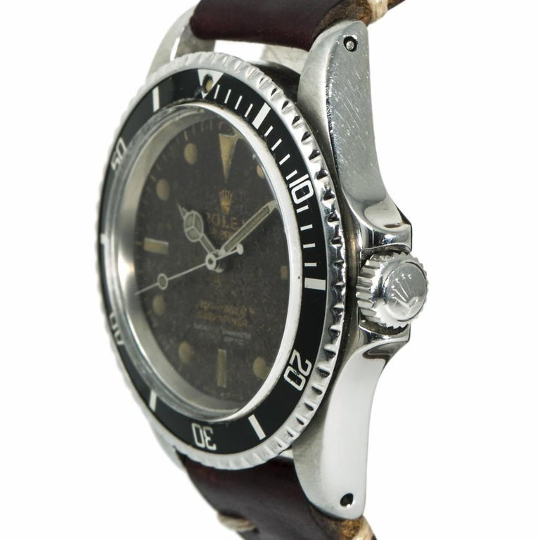 Rolex Submariner 5512, Certified Authentic For Sale 1