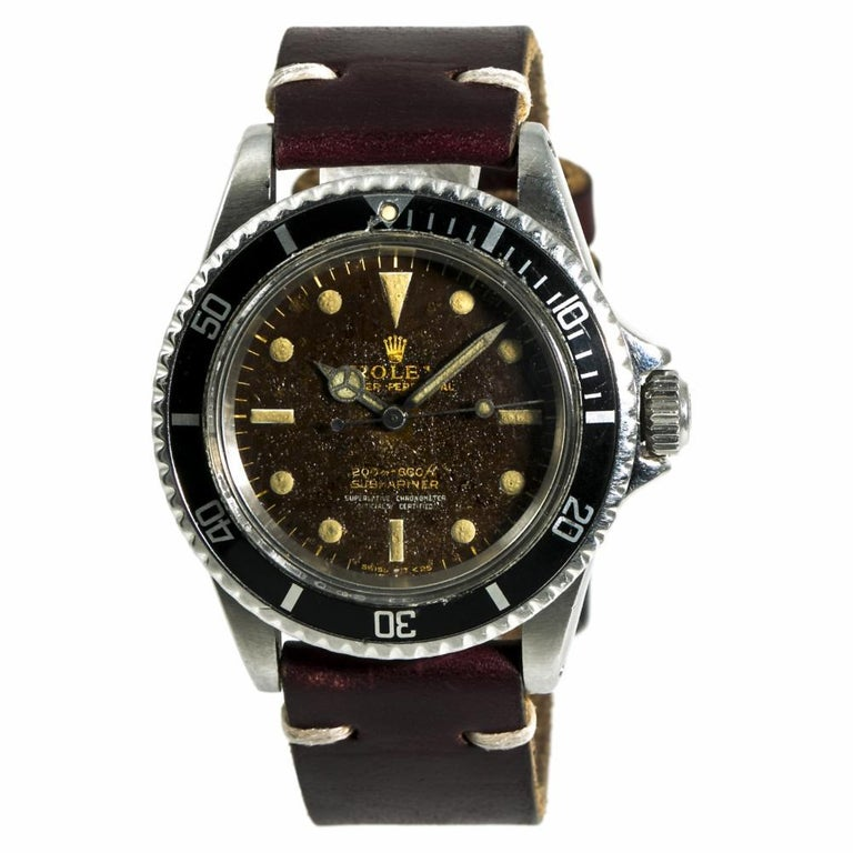 Rolex Submariner 5512, Certified Authentic For Sale