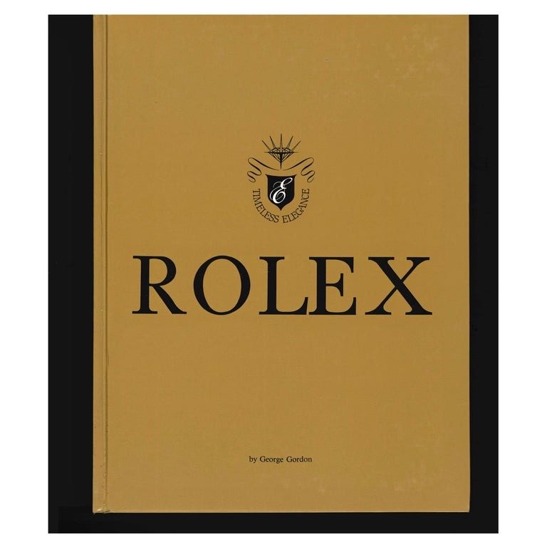 Rolex, Timeless Elegance, Book on Rolex Watches For Sale