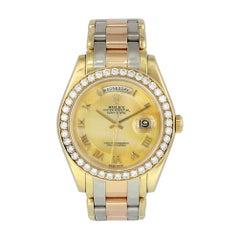 Rolex Tridor Day Date Perlmaster 18948 Men's Watch