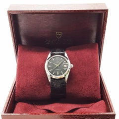 Rolex Tudor Oysterdate Red Date Stainless Steel Watch 7992/0 with Box