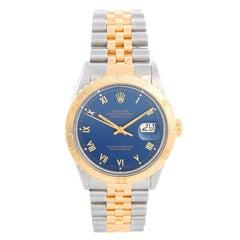 Rolex Turnograph Men's 2-Tone Watch 16253