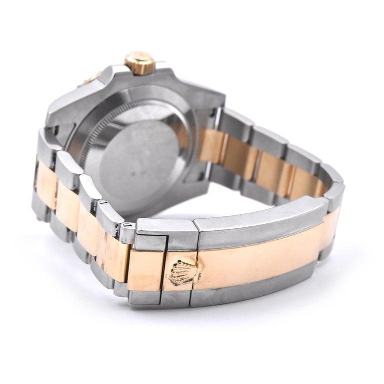 Women's or Men's Rolex Two-Tone Ceramic Submariner Watch Ref. 116613LB For Sale