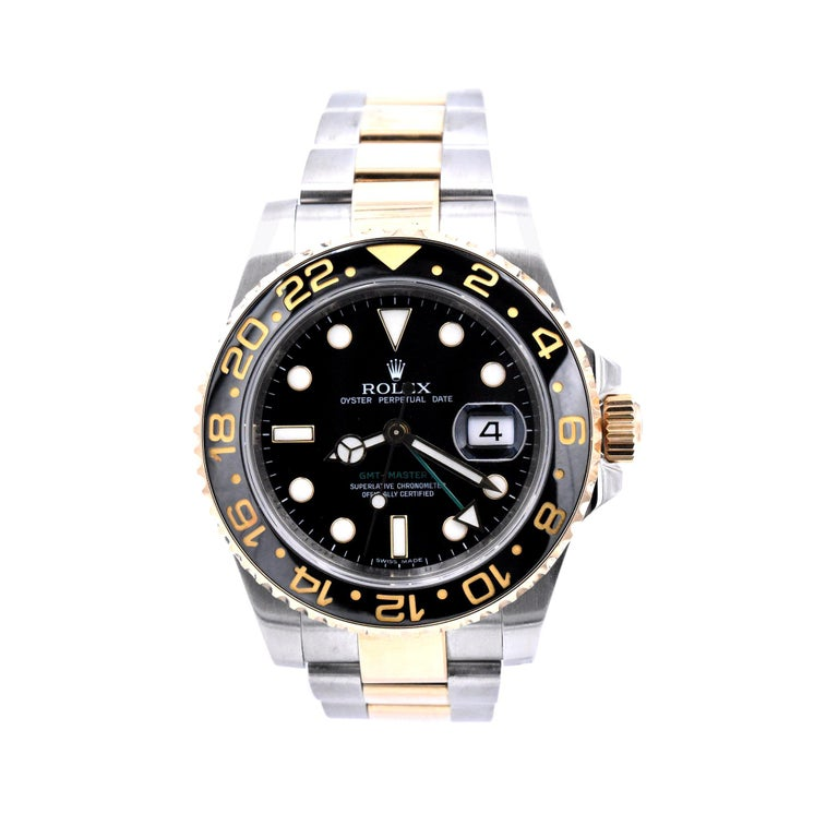Rolex Two-Tone GMT Master II Watch Ref. 116713 For Sale