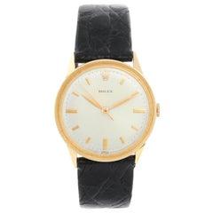 Rolex Vintage 14 Karat Yellow Gold Men's Watch