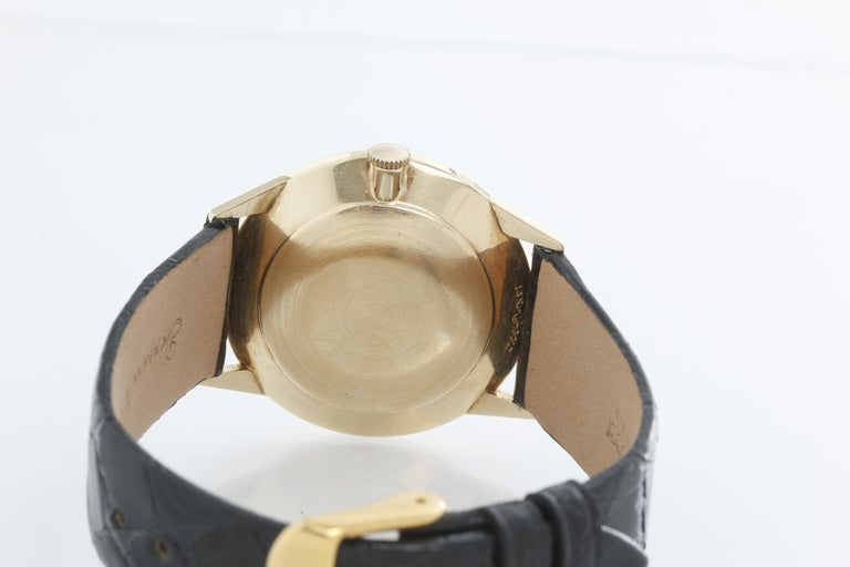 Rolex Vintage 14 Karat Yellow Gold Men's Watch For Sale 1