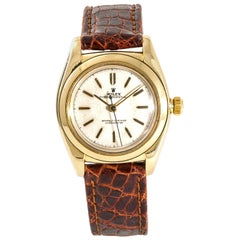 Rolex Vintage Collection 3131, Gold Dial, Certified and Warranty