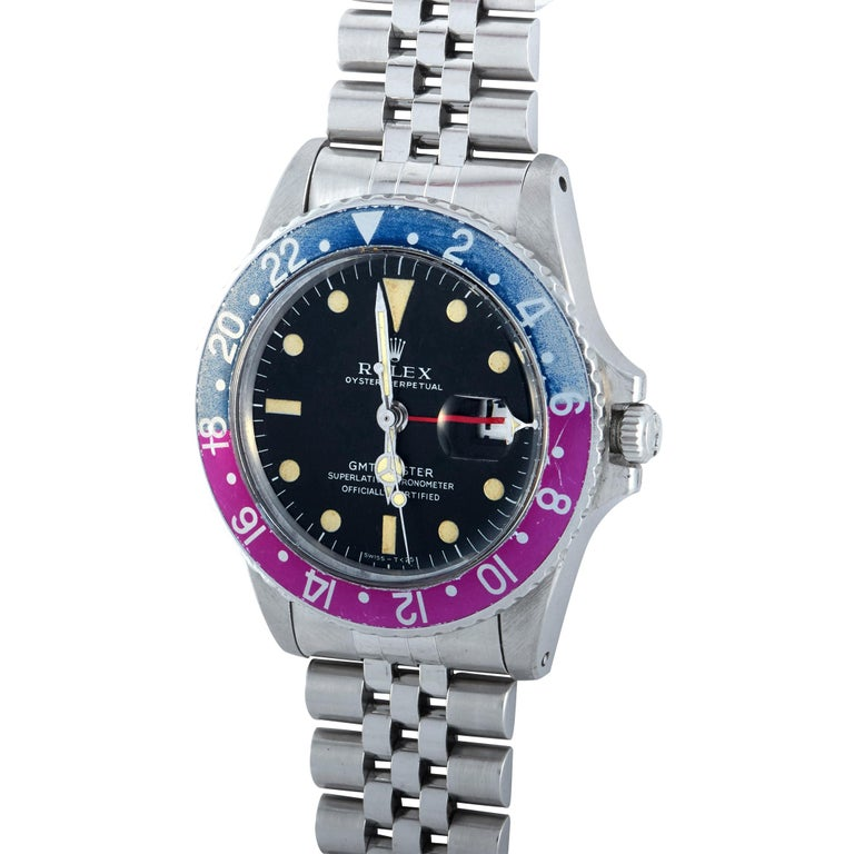 Rolex GMT-Master, Reference 1675, circa 1967, with first execution (MK1)