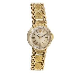 Rolex Vintage Ladies Mechanical Bracelet Watch with Original Certificate