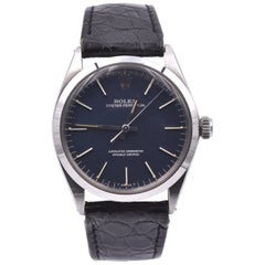 Rolex Vintage Oyster Perpetual Blue Dial Watch Ref. 1002