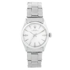 Rolex Vintage Oyster Perpetual Stainless Steel Midsize Watch 6548