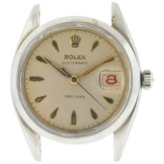 Rolex Vintage Oysterdate Precision Watch Head Only, circa 1946