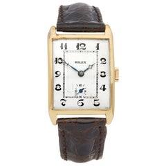 Rolex Vintage Prince Unisex Yellow Gold Watch