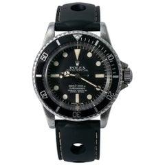 Rolex Vintage Submariner 5512 5.4 Million Serial Matte Dial 4 Liner Watch