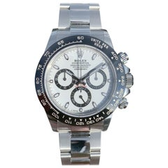 Rolex White Cosmograph Daytona 116500LN Watch