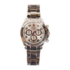 Rolex White Gold Cosmograph Daytona Wristwatch Ref 116509 with Box & Papers
