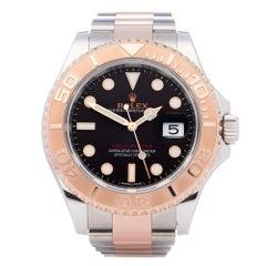 Rolex Yacht-Master 0 116621 Men Rose Gold & Stainless Steel 0 Watch