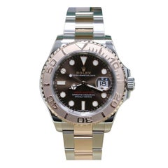 Rolex Yacht Master 116621 18 Karat Rose Gold and Stainless Box Paper, 2019