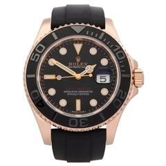Rolex Yacht-Master 116655 Men's Rose Gold Watch