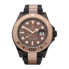 Rolex Yacht-Master 126621 Mens Rose Gold & DLC Stainless Steel 'Hercules' Watch
