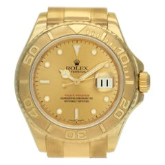 Rolex Yacht-Master 16628, Gold Dial, Certified and Warranty