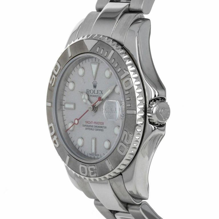 Rolex Yacht-Master 168622, Case, Certified and Warranty In Good Condition For Sale In Miami, FL