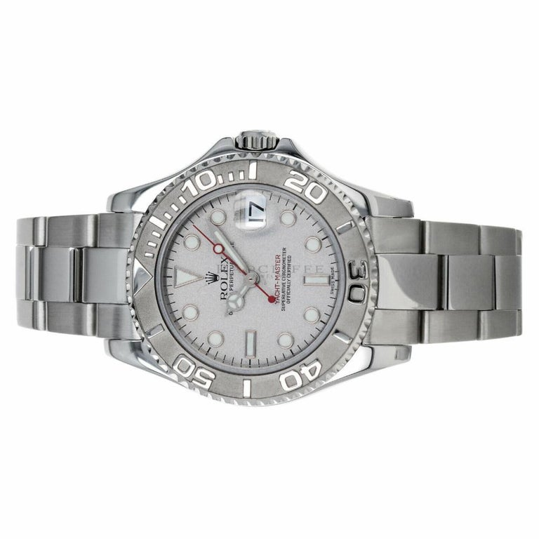 Rolex Yacht-Master 168622, Case, Certified and Warranty For Sale 1