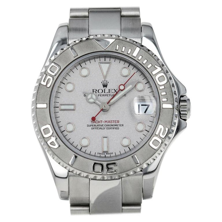 Rolex Yacht-Master 168622, Case, Certified and Warranty For Sale